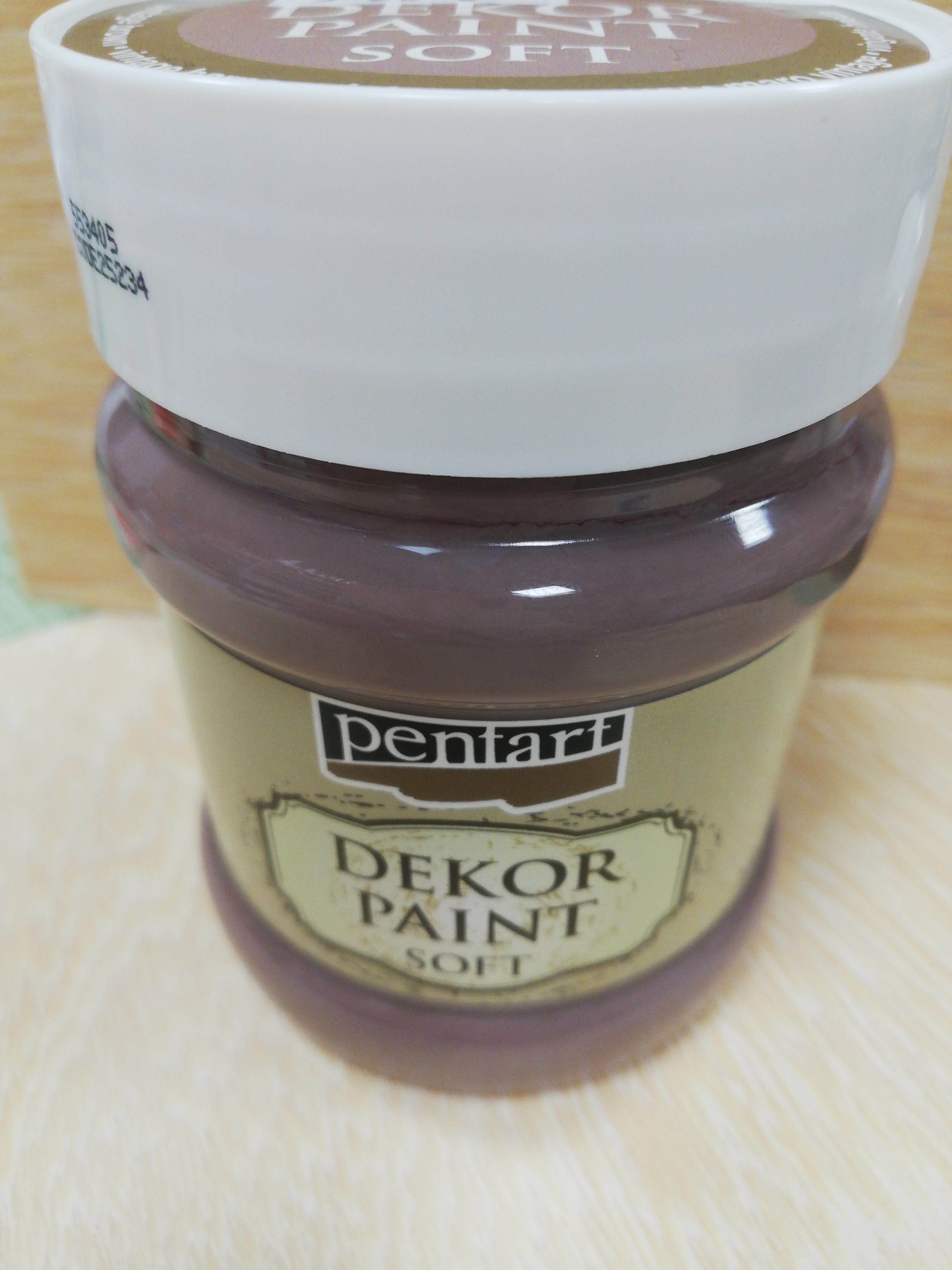 Dekor paint Soft 230ml vintage hnedá