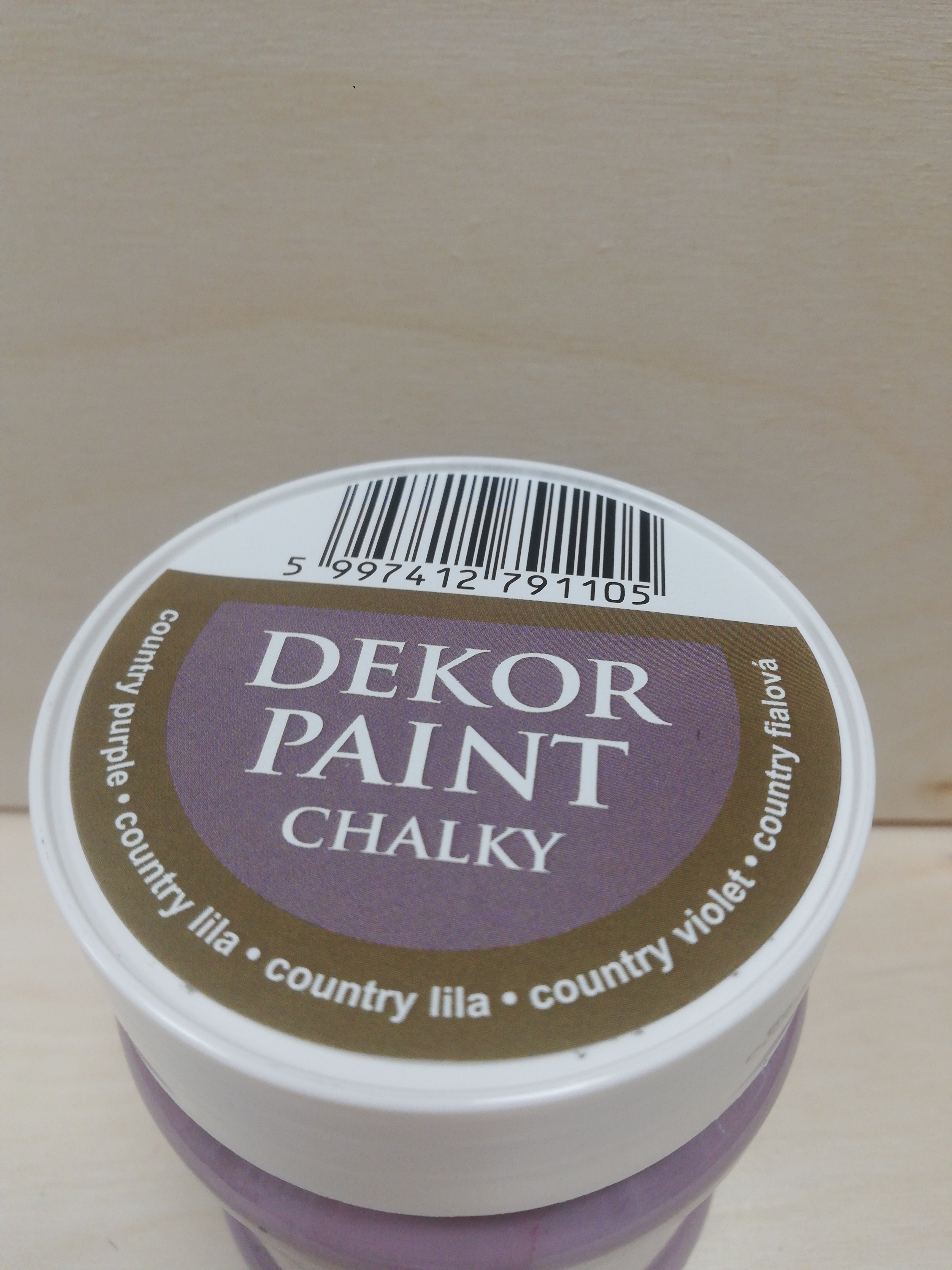 Dekor paint Soft 230 ml country fialová