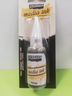 Media ink 20ml - medová