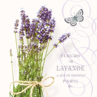 Servítka 25 x 25 cm Bunch of lavender